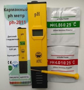 Новые ph метры 2011