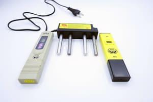 Комплект из трех приборов «Эконом» для проверки воды (рН метр + tds метр + электролизер)