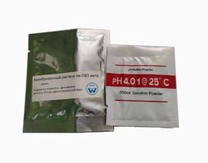 Комплект порошков для калибровки ОВП метра (256 мВ и рН 4.0)