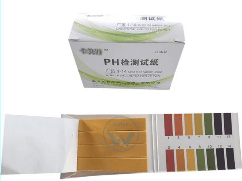 Набор универсальных тест полосок ph 1-14