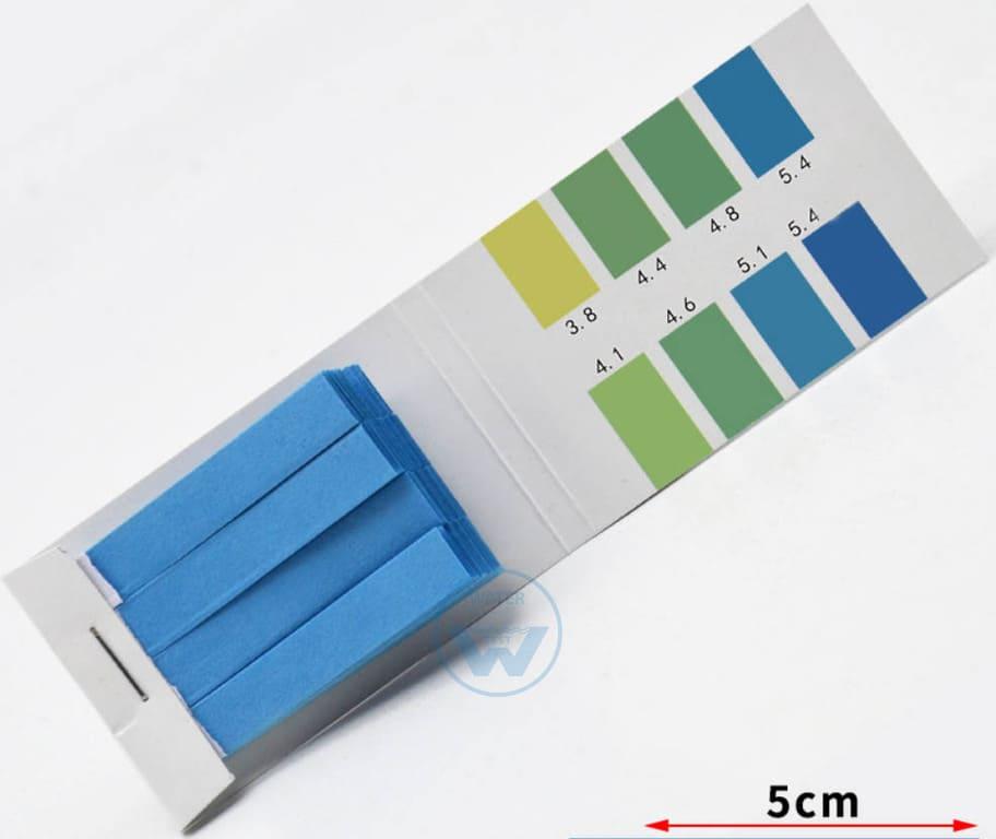 Лакмусовая бумага для определения ph 3.8 - 5.4
