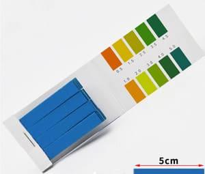 Лакмусовая бумага для определения ph 0.5 - 5.0