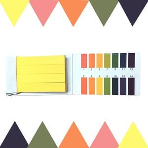 Лакмусовая бумага ph в диапазоне 1-14