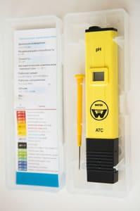 Портативный электронный рН метр 009(I) с ручной калибровкой