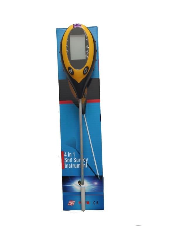 Прибор для измерения кислотности почвы рН метр 4 в 1